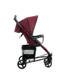 Прогулочная коляска Moon Kiss, цвет: bordeaux melange
