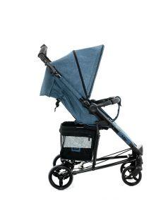 Прогулочная коляска Moon Kiss, цвет: blue melange