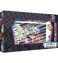 Набор канцелярский Monster High ноутбук 7БЦ+ручка авт.+карандаш с ластиком+точилка+ластик фигурный