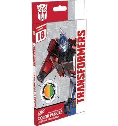 Карандаши цветные Transformers