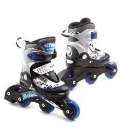 Коньки Action Sport Роликовые, цвет: синий