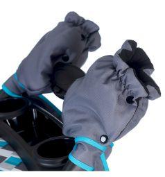 Прогулочная коляска BabyHit Voyage air, цвет: grey-blue