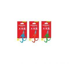 Ножницы детские длина: 125 мм материал ручек: пластик Silwerhof Народная коллекция