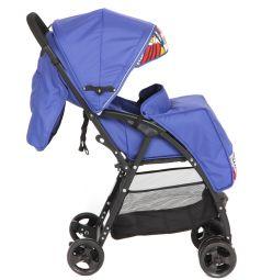 Прогулочная коляска Glory 1009, цвет: синий