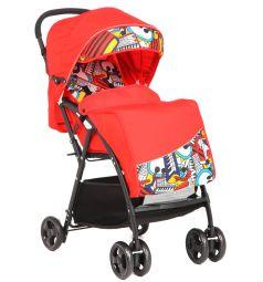 Прогулочная коляска Glory 1009, цвет: красный
