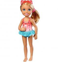 Кукла Barbie Barbie Club Chelsea Блондинка с солнечными очками 13.5 см