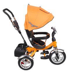 Трехколесный велосипед Capella Prime Trike Pro, цвет: оранжевый