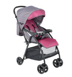 Прогулочная коляска Glory 1009, цвет: коричневый/розовый