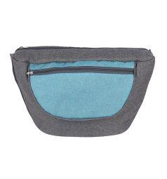 Коляска 2 в 1 Marimex Doris Len, цвет: серый/бирюзовый