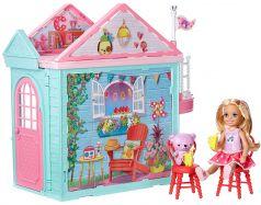 Дом для кукол Barbie Barbie Club Chelsea Челси