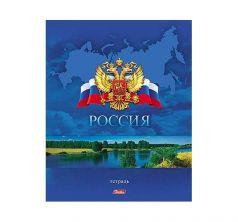 Тетрадь А5 48 листов клетка Hatber Россия