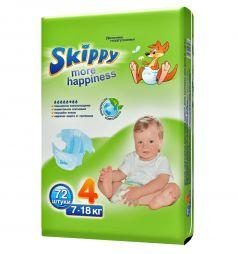 Подгузники Skippy (7-18 кг) 72 шт.