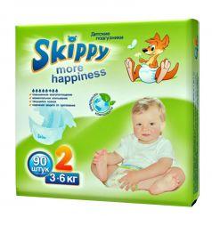 Подгузники Skippy (3-6 кг) 90 шт.