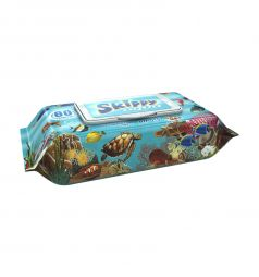 Влажные салфетки Skippy Aqua детские, 80 шт