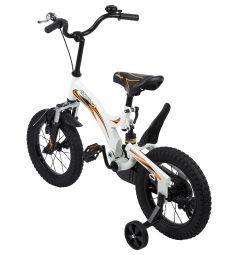 Велосипед Capella G16BA606, цвет: белый/черный/оранжевый