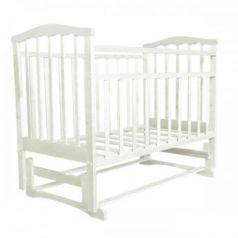 Кровать-качалка Агат Золушка-5, цвет: белый
