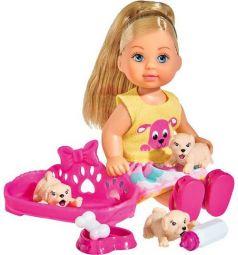 Кукла Smoby Еви с собачками 12 см