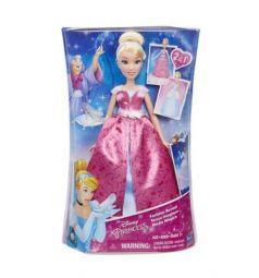Кукла Disney Princess Золушка в меняющимся платье 28 см