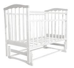 Кровать Агат, цвет: белый