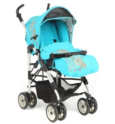 Прогулочная коляска Capella S-321, цвет: бирюзовый