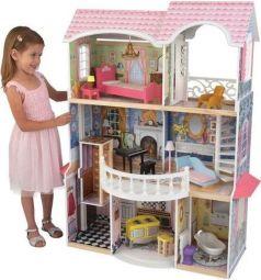 Дом для кукол KidKraft Для барби с мебелью магнолия интерактивный 118 см
