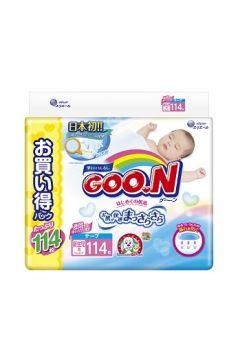 Подгузники Goon Jumbo Pack (до 5 кг) 114 шт.
