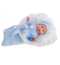 Кукла Juan Antonio Ланита в голубом (плачет) 27 см
