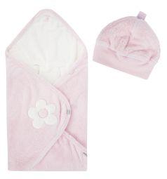 Конверт Bemini Beside Softy Lizie darling 90 х 90 см, цвет: розовый/белый