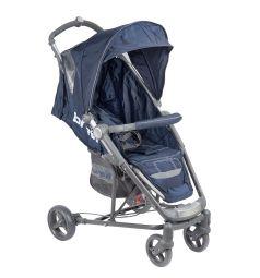Прогулочная коляска Brevi Ginger, цвет: темно-синий/серый