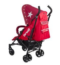 Коляска-трость Brevi Marathon, цвет: красные звезды