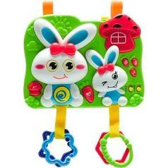 Игровая панель с функцией проектора Fivestar Toys Rabbit 2 in 1 голубые ушки и одежда
