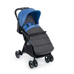 Прогулочная коляска Cam Curvi, цвет: серый/синий
