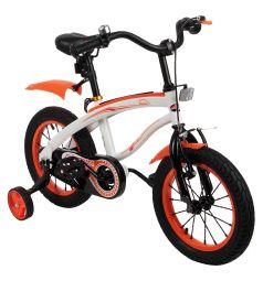 Велосипед Capella G14BM, цвет: белый/оранжевый