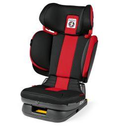 Автокресло Peg-Perego Viaggio 2-3 Flex, цвет: красный/черный