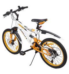 Велосипед Capella G20S650, цвет: белый/оранжевый