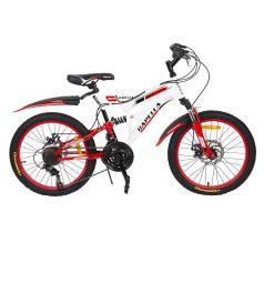 Велосипед Capella G20S650, цвет: белый/красный