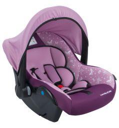 Автокресло-переноска Leader Kids Вояж, цвет: розовый/фиолетовый