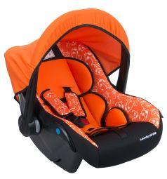 Автокресло-переноска Leader Kids Вояж, цвет: оранжевый/черный