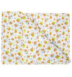 Звездочка Одеяло Котята 140 х 110 см, цвет: белый