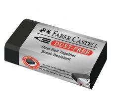 Ластик Faber-Castell Dust-free черный