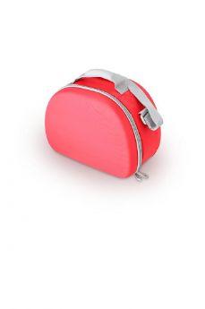 Сумка-термос Thermos Beauty series EVA Mold kit Silver, цвет: красный