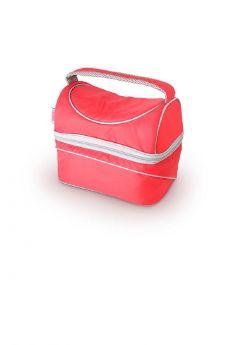 Сумка-термос Thermos Beauty series PopTop Dual Silver, цвет: красный