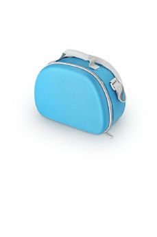 Сумка-термос Thermos Beauty series EVA Mold kit Silver, цвет: голубой