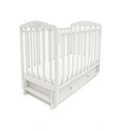 Кровать Sweet Baby Eligio, цвет: белый