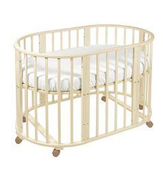 Кровать-трансформер Sweet Baby Delizia без маятника, цвет: слоновая кость