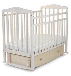 Кровать Sweet Baby Luciano, цвет: белое облако