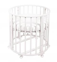 Кровать-трансформер Sweet Baby Delizia без маятника, цвет: белый