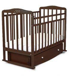 Кровать Sweet Baby Luciano, цвет: венге