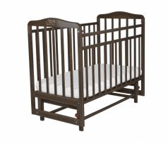 Кровать Sweet Baby Ennio, цвет: венге