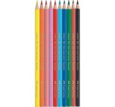 Карандаши цветные Faber-Castell Eco Замок с точилкой 12 шт.